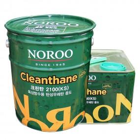 노루페인트 크린탄 2100 K 탄성우레탄 중도 옥상방수재 12.6L